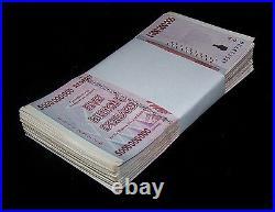 100 x Zimbabwe 5 Billion Dollar bank notes -full currency bundle-1/2 trillion