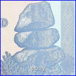 3 X Zimbabwe 100 Trillion Dollar Note, AA, 2008 series, UNCIRCULATED