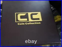 64pcs Gold Plated Zimbabwe 100 Trillion Dollars Buffalo Bullion Coin with box