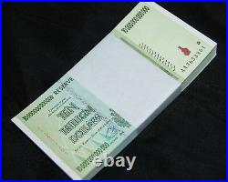 7x Zimbabwe 10 Trillion Dollars 2008 Aa 100% Genuine Over 50 In Stock