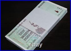 Half Bundle (50x) Zimbabwe 50 Trillion Dollars Unc 2008 Aa 100% Genuine