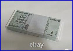 ZIMBABWE 2008 P90 50 Trillion Dollars CONSECUTIVE. GEM UNC Pack 100 Pieces