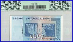 Zimbabwe 100 Trillion Dollars, 2008, P-91, AA Prefix, PCGS 70 PPQ