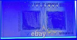 Zimbabwe 50 & 100 Trillion Dollars PAIR AA- 2008 Pick-90 & 91 UNC U. V Tested