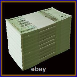 Zimbabwe 50 Trillion Dollars x 1000 Pcs Bundle Brick, 2008 AA UNC