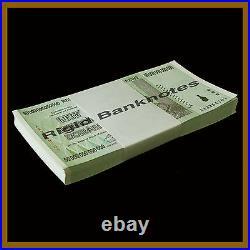 Zimbabwe 50 Trillion Dollars x 50 Pcs Bundle, 2008 AA Unc, 100 Trillion Series